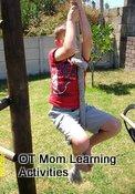 playground activities - rope climbing