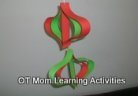 paper ornament cutting activity