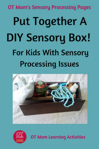 Sensory integration activities for kids