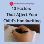 What Affects Handwriting?