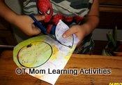 scissor cutting activity for kids