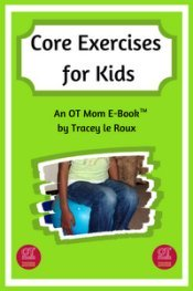 core exercises for kids e-book