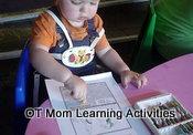 palmar pencil grasp in toddler