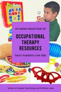 occupational therapy products and resources