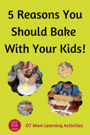 how baking activities can benefit kids