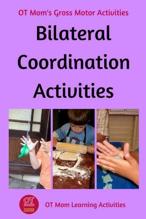 bilateral integration activities for kids