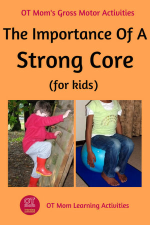 Why core strength is important for kids