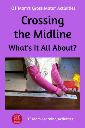 what is crossing the midline?
