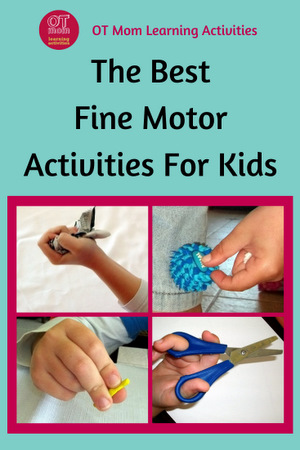 fine motor activities to boost kids' skills