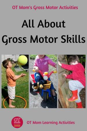 gross motor skills information and activities