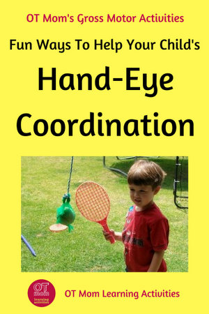 Hand Eye Coordination Activities For Kids