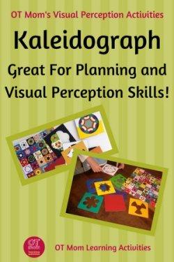 Using Kaleidograph for visual perception skills