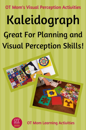 Using Kaleidograph for visual perception skills