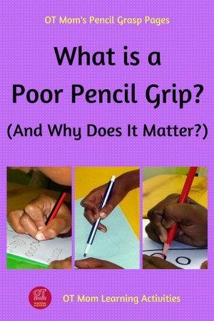 Poor Pencil Grip