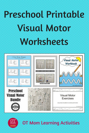 awesome preschool visual motor worksheets