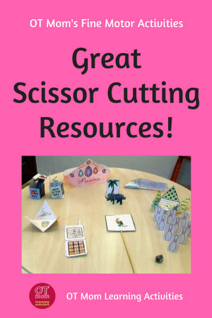 scissor cutting printable resources