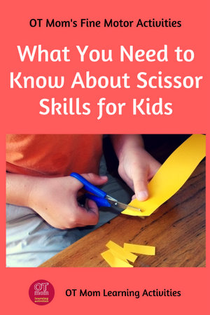 scissor skills for kids - your questions answered