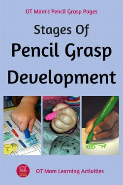 The stages of pencil grasp development in kids