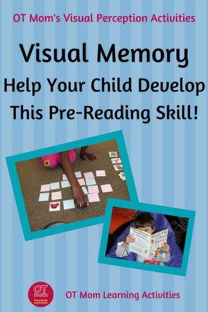 visual memory activities to help your child learn to read