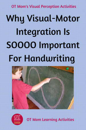 Visual-Motor Integration is important for handwriting