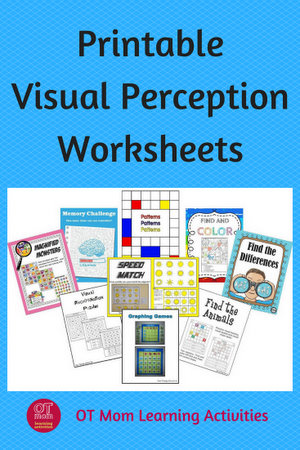 visual perception printable activities