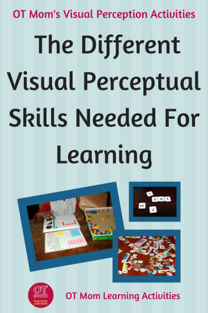 What are visual perceptual skills and why are they important for learning?