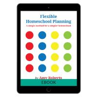 flexible homeschool planning