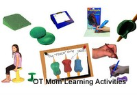 Pencil Grips, Writing Aids and Seating Therapy Products
