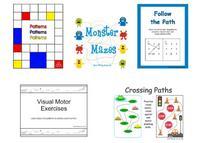 printable visual motor worksheets