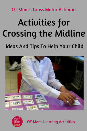 activities and games for crossing the midline