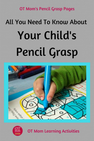 all you need to know about pencil grasp in children