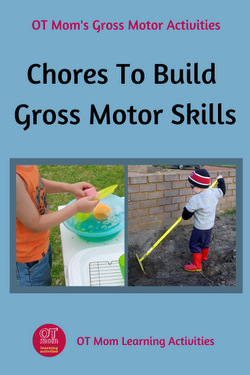 chores with gross motor benefits
