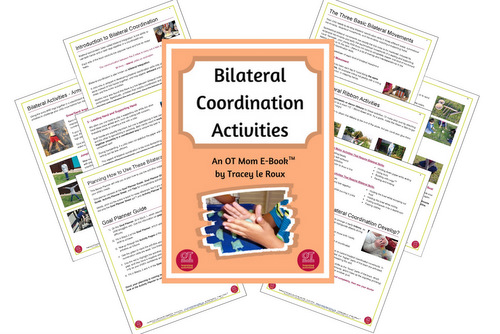 A bilateral coordination downloadable resource book packed with activities to support your child's coordination skills!