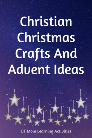Christian Christmas crafts and resources for kids