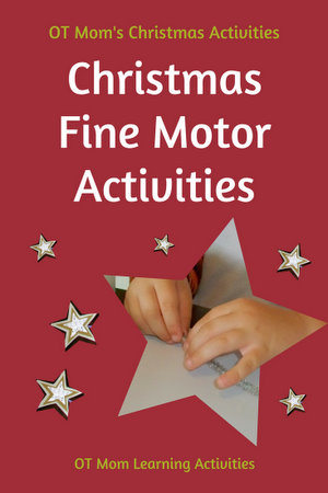 fine motor christmas activities. Black Bedroom Furniture Sets. Home Design Ideas