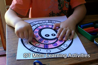 coloring activity