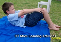 kids tummy curls core exercises