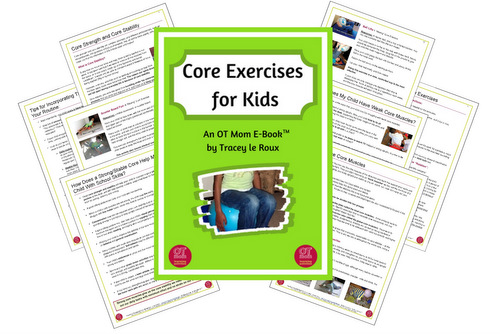 e-book of core exercises for kids