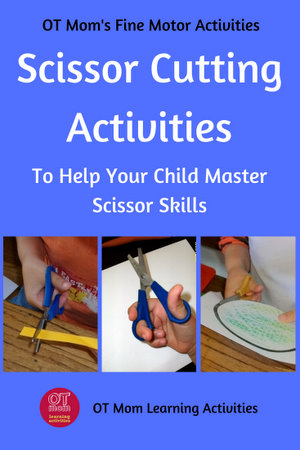 scissor cutting activities for kids