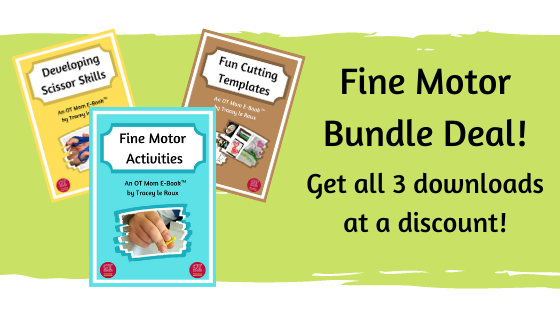 bundle deal of 3 fine motor e-books