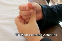 Finger exercises for fine motor skills