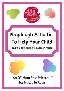 free printable playdough activities