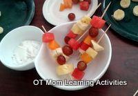 fruit kebabs for kids