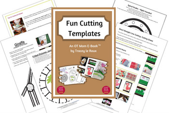 fun scissor cutting templates to download and print