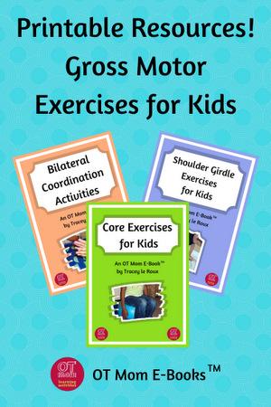 printable gross motor exercises for kids