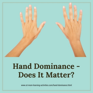 Hand dominance - does it matter?