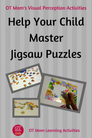 teaching your child how to do jigsaw puzzles