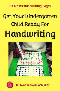 handwriting for kids. Black Bedroom Furniture Sets. Home Design Ideas