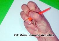 Lateral Quadrupod Pencil Grip