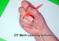 Lateral Tripod Pencil Grip